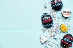 Chocolade en suikergoed met exemplaarruimte royalty-vrije stock afbeelding