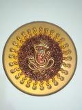 Chocolade Ganesh stock afbeeldingen
