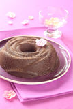 Chocolade Gebakken Pudding Royalty-vrije Stock Fotografie