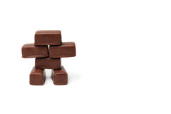 The chocolade robot Royalty Free Stock Images