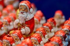 Chocolade Sinterklaas Stock Afbeelding