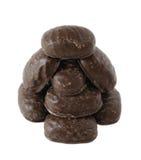 Chocolade sweet.isolated Stock Afbeeldingen