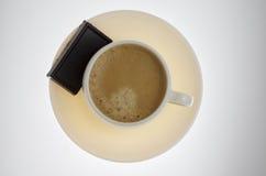 Chocolade voor coffe Stock Foto