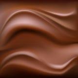 Chocoladeachtergrond Royalty-vrije Stock Foto's