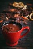 Chocoladeachtergrond Stock Afbeeldingen