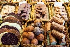 Chocoladebank stock fotografie