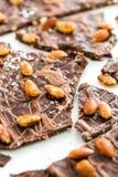 Chocoladebanketbakkerij royalty-vrije stock foto's
