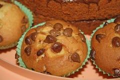 Chocoladebiscuitgebak Stock Fotografie