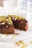 Chocoladecake Stock Afbeeldingen