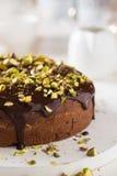 Chocoladecake Royalty-vrije Stock Afbeelding