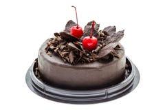 Chocoladecake. Royalty-vrije Stock Afbeelding