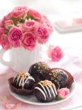 Chocoladecake Royalty-vrije Stock Afbeeldingen