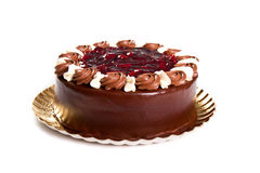 Chocoladecake Royalty-vrije Stock Foto