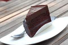Chocoladecake Royalty-vrije Stock Foto's