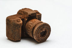 Chocoladecamera Stock Foto's