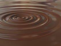Chocoladedaling royalty-vrije stock foto