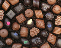 Chocoladedoos stock fotografie