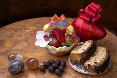 Chocoladeeieren Royalty-vrije Stock Foto