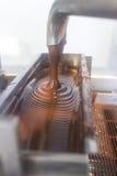 Chocoladefabriek stock afbeelding
