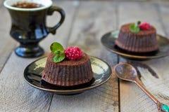 Chocoladefondantje Royalty-vrije Stock Afbeeldingen