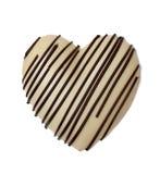 Chocoladehart Stock Afbeeldingen