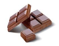 Chocoladeillustartion Stock Foto