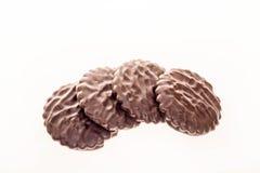 Chocoladekoekjes Royalty-vrije Stock Foto