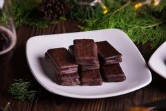 Chocoladekoekjes Stock Foto's