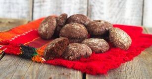 Chocoladepeperkoek Stock Foto's