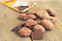 Chocoladepeperkoek Stock Afbeeldingen