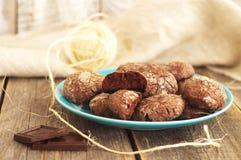 Chocoladepeperkoek royalty-vrije stock fotografie