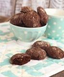 Chocoladepeperkoeken royalty-vrije stock afbeelding