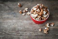 Chocoladepopcorn Stock Fotografie