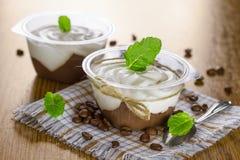 Chocoladepudding Royalty-vrije Stock Afbeelding