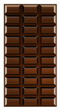 Chocoladereep royalty-vrije illustratie