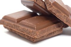 Chocoladereep Royalty-vrije Stock Foto