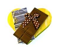 Chocoladerepen Stock Foto