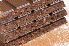 Chocoladerepen Royalty-vrije Stock Fotografie