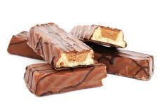Chocoladerepen stock fotografie