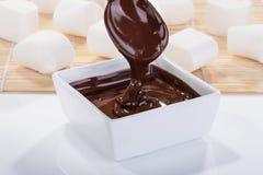Chocoladesaus Stock Fotografie