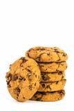 Chocoladeschilfer coockies Royalty-vrije Stock Afbeelding