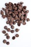 Chocoladeschilfers stock foto