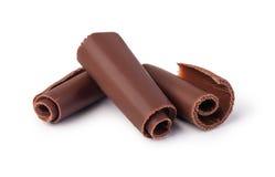 Chocoladespaanders royalty-vrije stock afbeeldingen