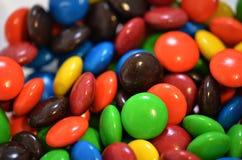 Chocoladesuikergoed Stock Foto's