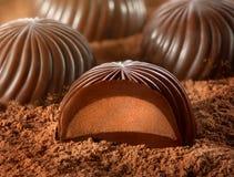 Chocoladesuikergoed Stock Afbeeldingen