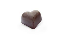 Chocoladesuikergoed in de vorm van hart Stock Foto