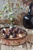 Chocoladetruffels Royalty-vrije Stock Fotografie