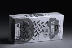Chocoladevlokken, Vlokken, обыкновенно используемое отбензинивание сандвича в Нидерландах стоковые изображения