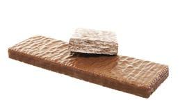 Chocoladewafeltje Royalty-vrije Stock Afbeelding