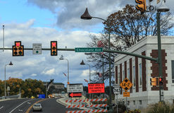 Chocoladeweg in Hershey Pennsylvania Stock Afbeelding